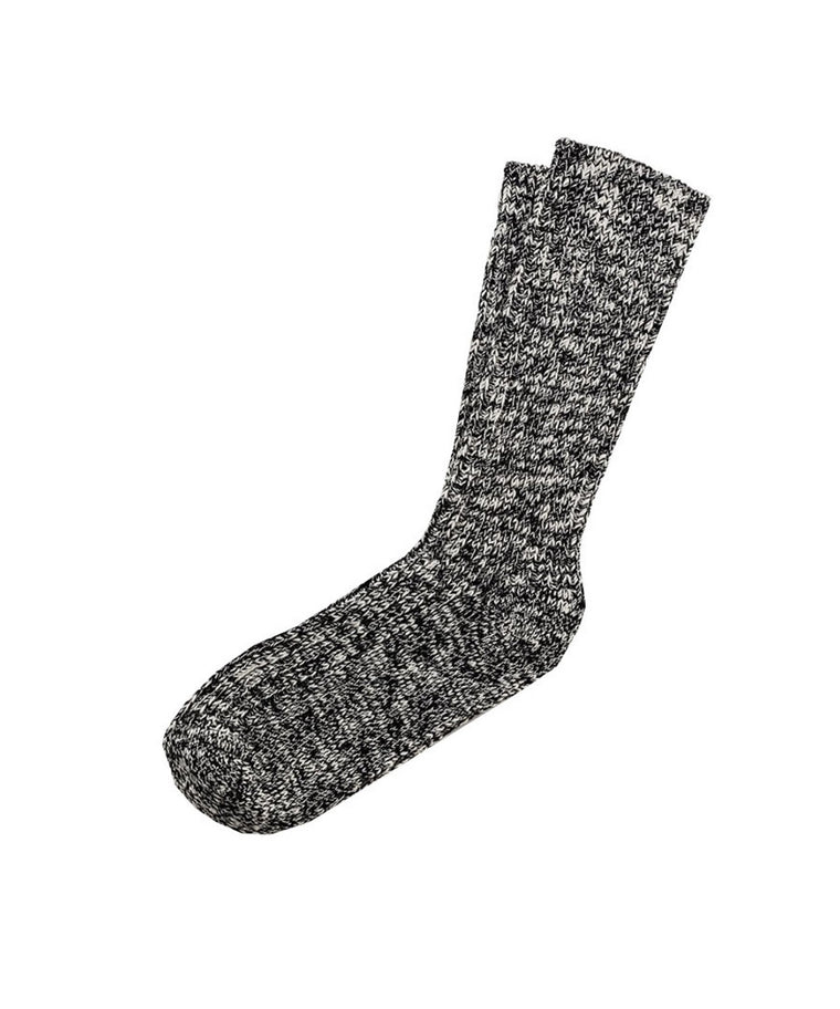 Fashion Slub Sock - Black/Grey 1002435