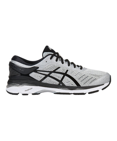 Men's Gel-Kayano 24 - Silver/Black/Mid Grey T749N9390