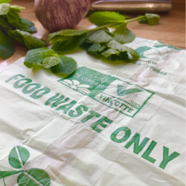 30L Compostable Caddy Bags