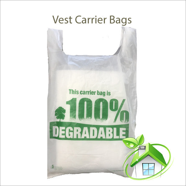 Eco Degradable Carrier Bags