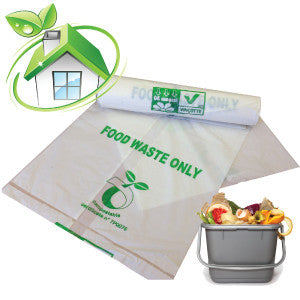 25 -  7L Compostable Caddy Bags