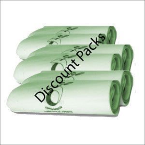 Compostable 30L Caddy Bags  Special Offer 100 Bags  Discount Pack