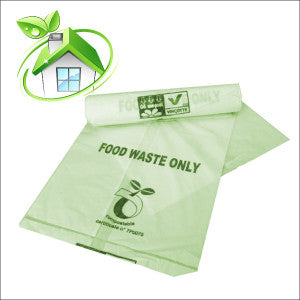 Compostable 30L Caddy Bags  40 bags
