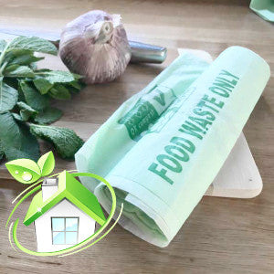 7Litre kitchen food waste compostable bags