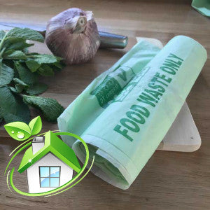 7 Litre compostable caddy bags