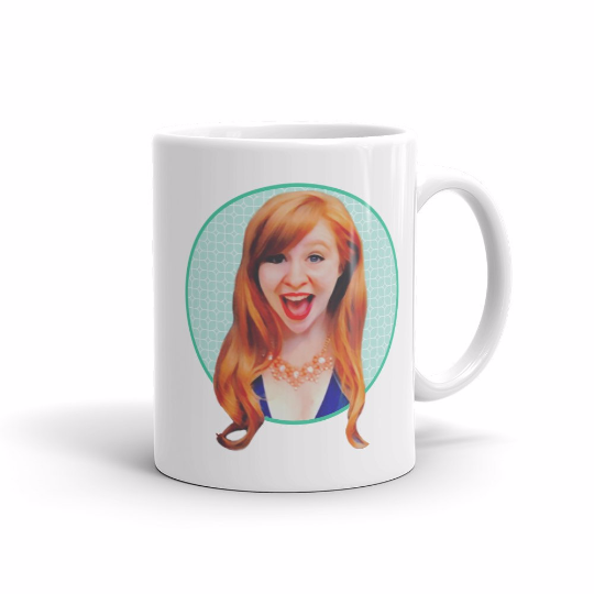 Custom portrait 11 oz ceramic mug