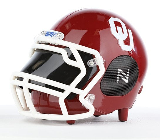 Oklahoma Sooners Bluetooth Speaker Helmet