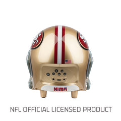 San Francisco 49ers Bluetooth Speaker Helmet
