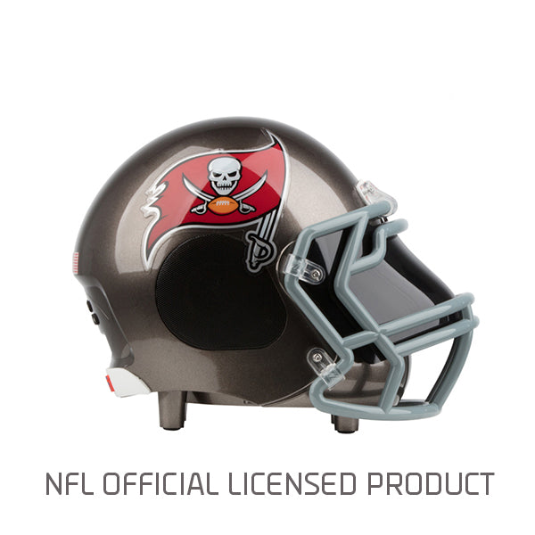 Tampa Bay Buccaneers Bluetooth Speaker Helmet