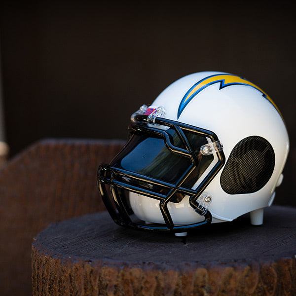 Los Angeles Chargers Bluetooth Speaker Helmet