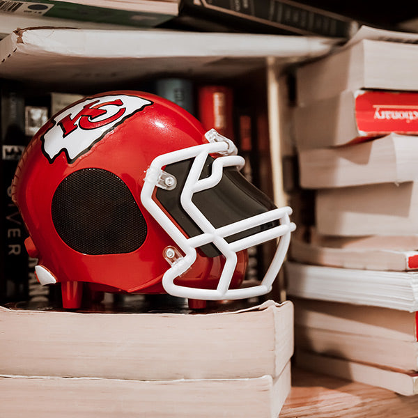 Kansas City Chiefs Bluetooth Speaker Helmet