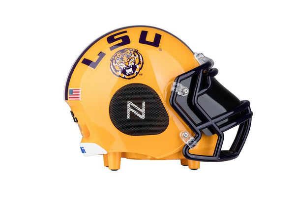 LSU Tigers Bluetooth Speaker Helmet