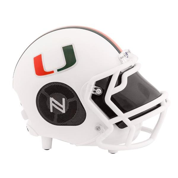 Miami Hurricanes Bluetooth Speaker Helmet