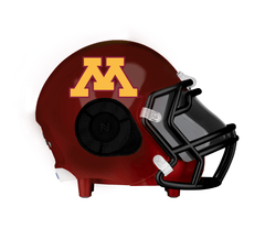Minnesota Golden Gophers Bluetooth Speaker Helmet