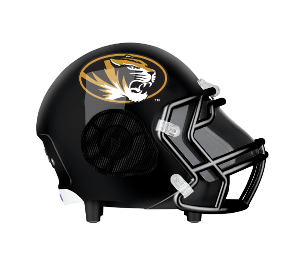 Missouri Tigers Bluetooth Speaker Helmet
