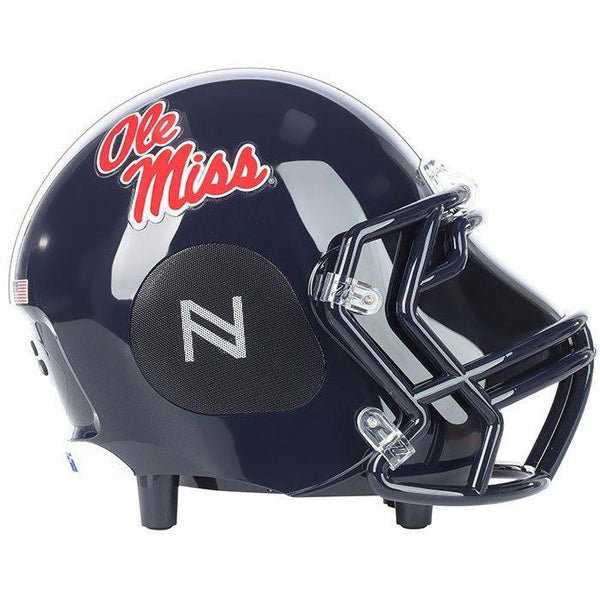 OLE Miss Rebels Bluetooth Speaker Helmet