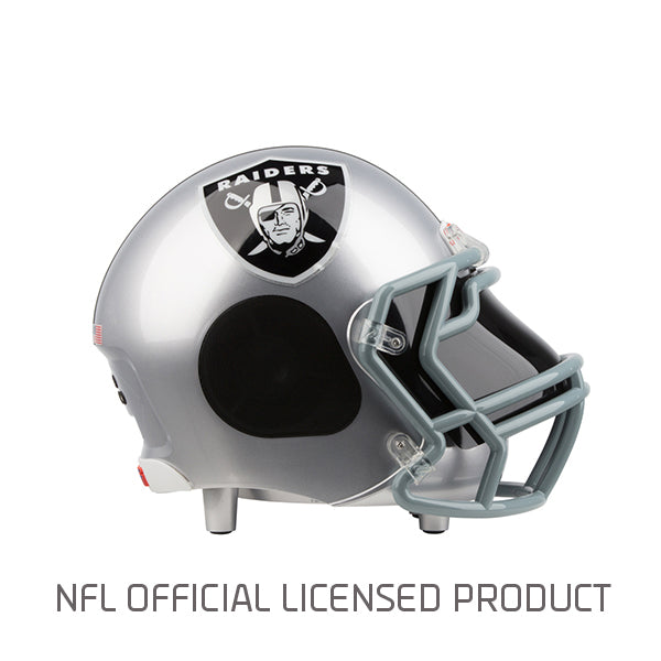 Oakland Raiders Bluetooth Speaker Helmet