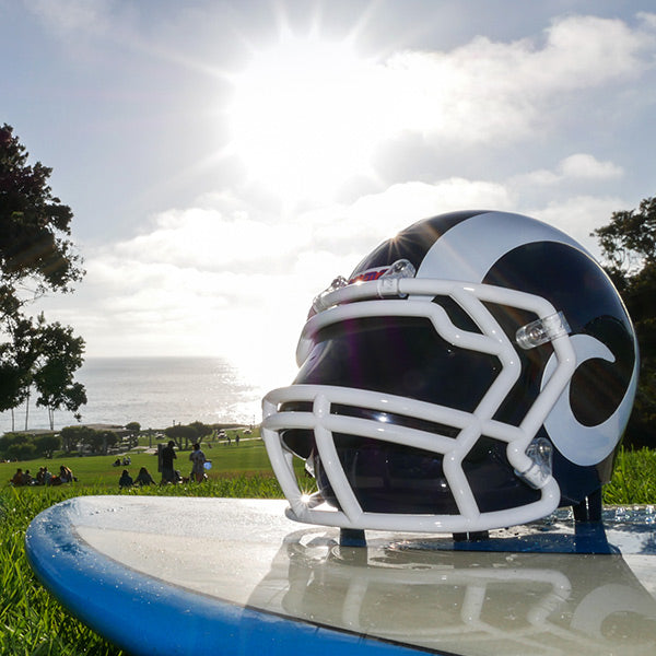 Los Angeles Rams Bluetooth Speaker Helmet