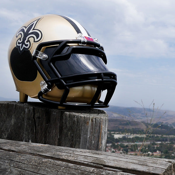 New Orleans Saints Bluetooth Speaker Helmet