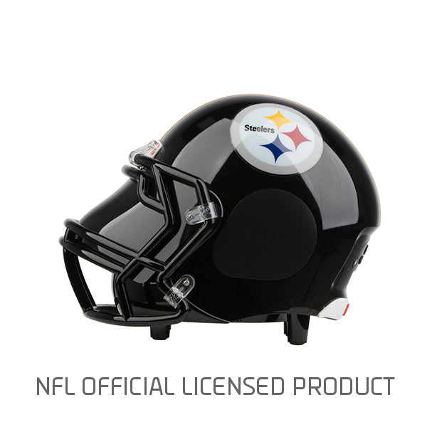 low priced a8a29 41e9c NFL Pittsburgh Steelers Bluetooth Helmet Speaker