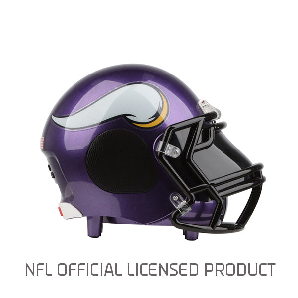 Minnesota Vikings Bluetooth Speaker Helmet