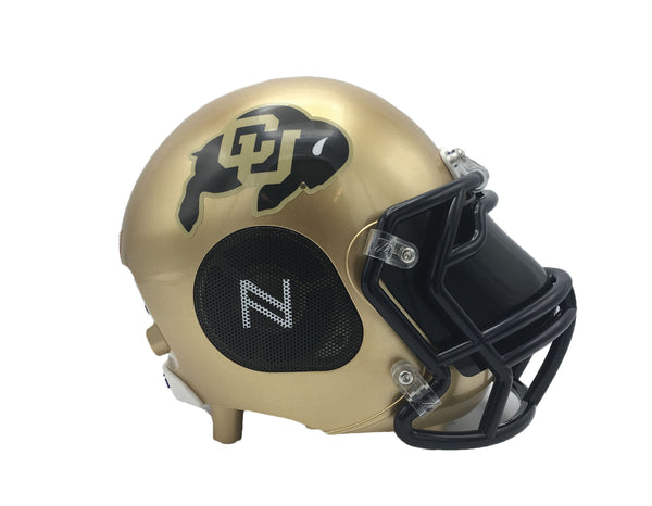 Colorado Buffaloes Bluetooth Speaker Helmet