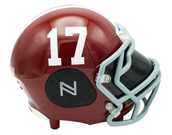 Alabama Crimson Tide Bluetooth Speaker Helmet
