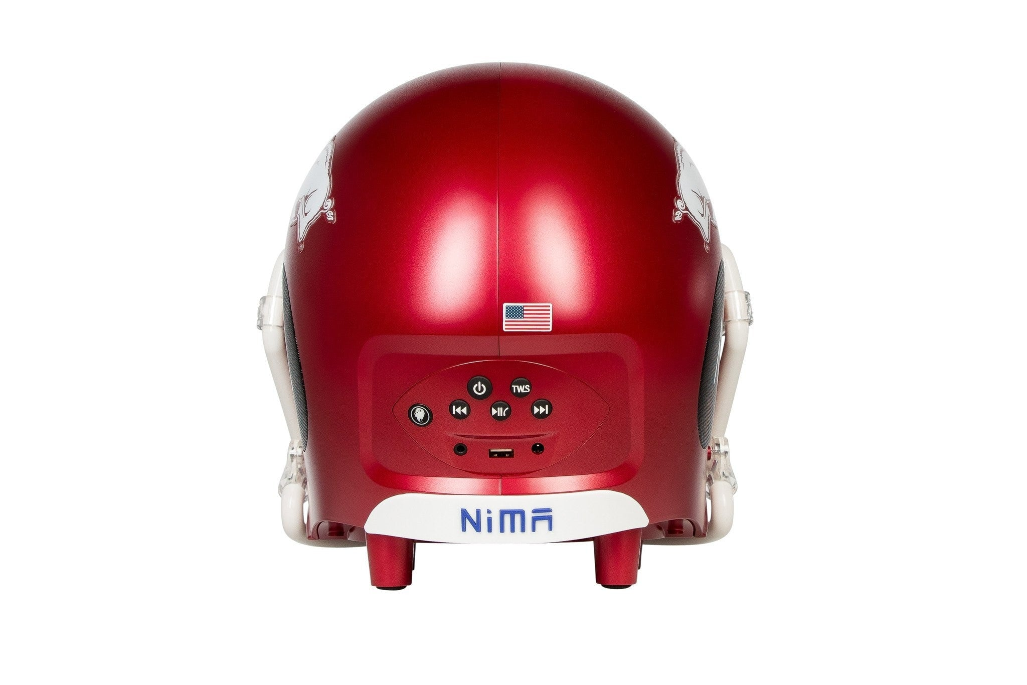 Arkansas Razorbacks Bluetooth Speaker Helmet