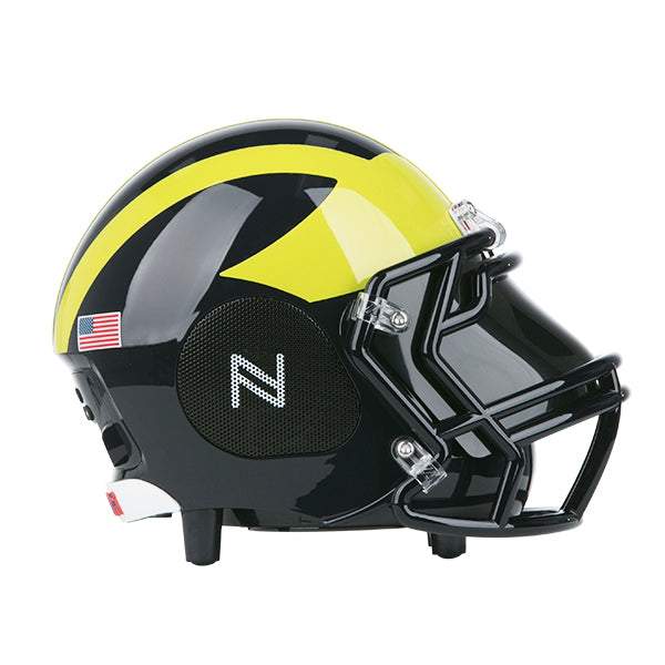 Michigan Wolverines Bluetooth Speaker Helmet