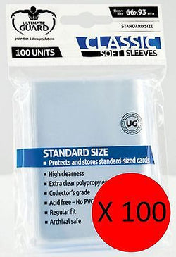 10,000 Soft Sleeve Sleeves  Deck Protectors for MTG & Pokemon (Ultimate Guard)