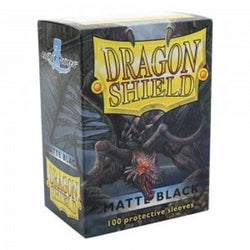Dragon Shield Standard Sleeves  Black Matte (100)
