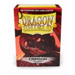 Dragon Shield Standard Sleeves  Crimson Classic (100)
