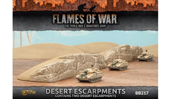 Flames of War 4th Edtion Desert Escarpments