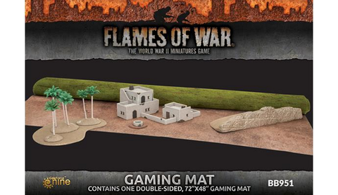 Flames of War 4th Edtion Desert Gaming Mat (48 * 72)