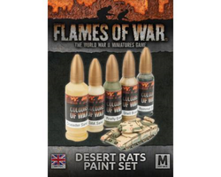 Flames Of War 4th Edition Desert Rats Paint Set