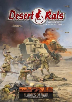 Flames Of War Dessert Rats Rule Book