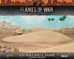 Flames Of War 4th Edition Extra Large Dune