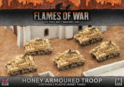 Flames Of War Honey Armoured Troops