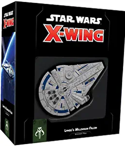 Star Wars X-Wing Lando's Millenium Falcon   Expansion Pack