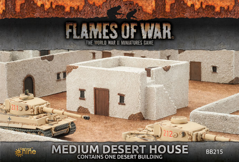 Flames Of War 4th Edition Medium Dessert Houses