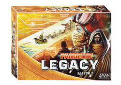 Yellow Pandemic legacy Season Two Yellow