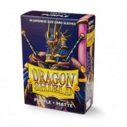 Dragon Shield Small Sleeves (YGO) Purple Matte (60)
