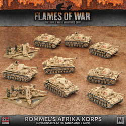 Flames Of War Rommel's Afrika Korps Set
