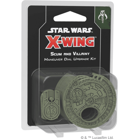 Star Wars X-Wing  Second Edition Scum & Villainy Maneuver Dial Upgrade Kit  (Pre-Order 13.09.18)