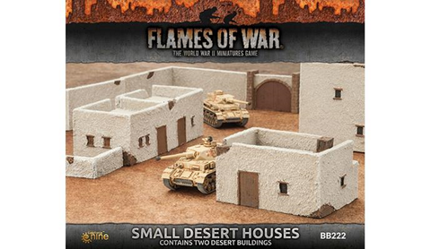 Flames Of War 4th Edition Small Dessert Houses