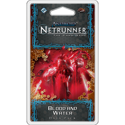 Blood and Water Data Pack: Netrunner LCG Exp.