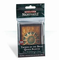 Warhammer Underworlds: Nightvault Thorn of the Briar Queen Sleeves (39)