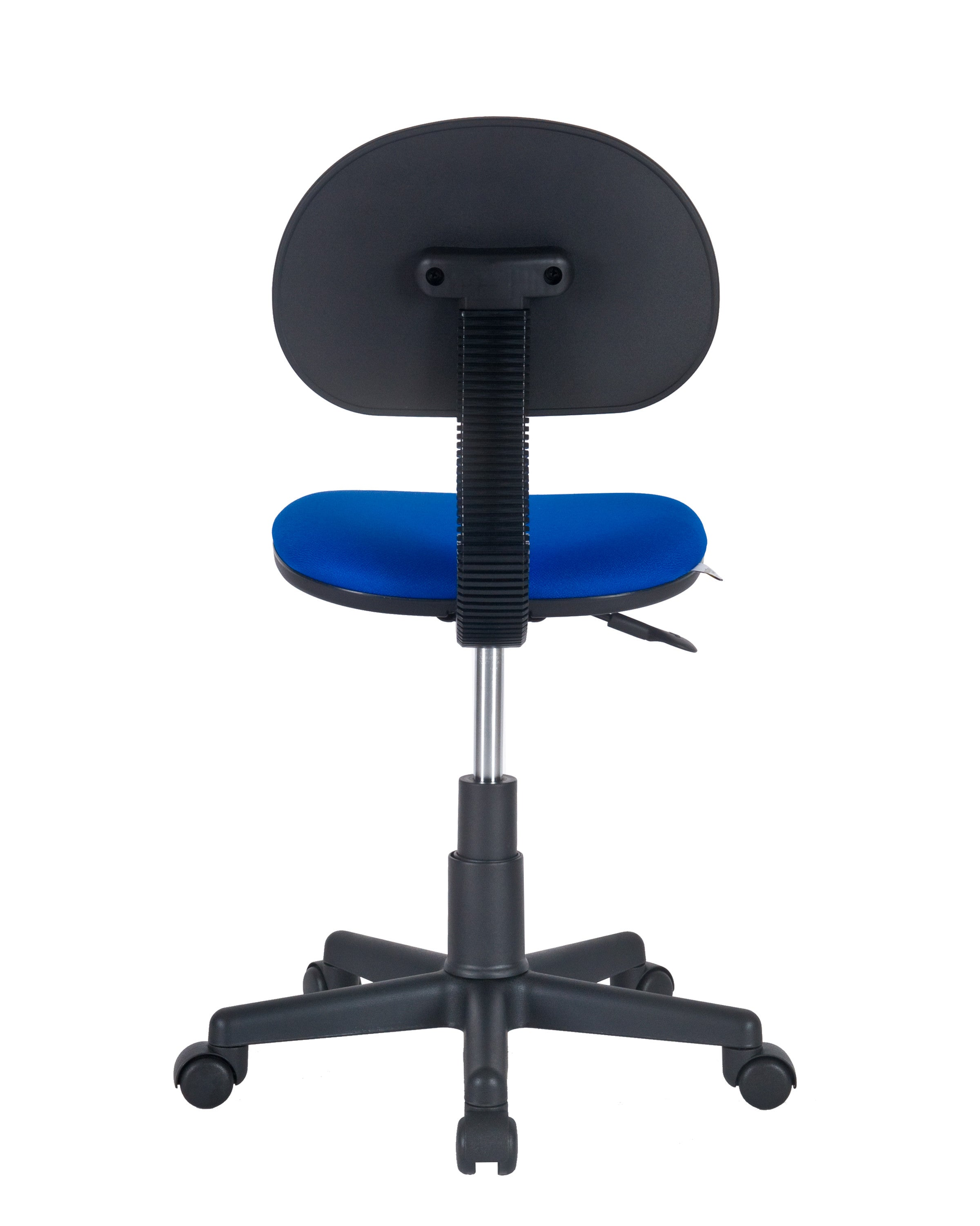 Armless Task Chair by Charm Furniture (Blue)