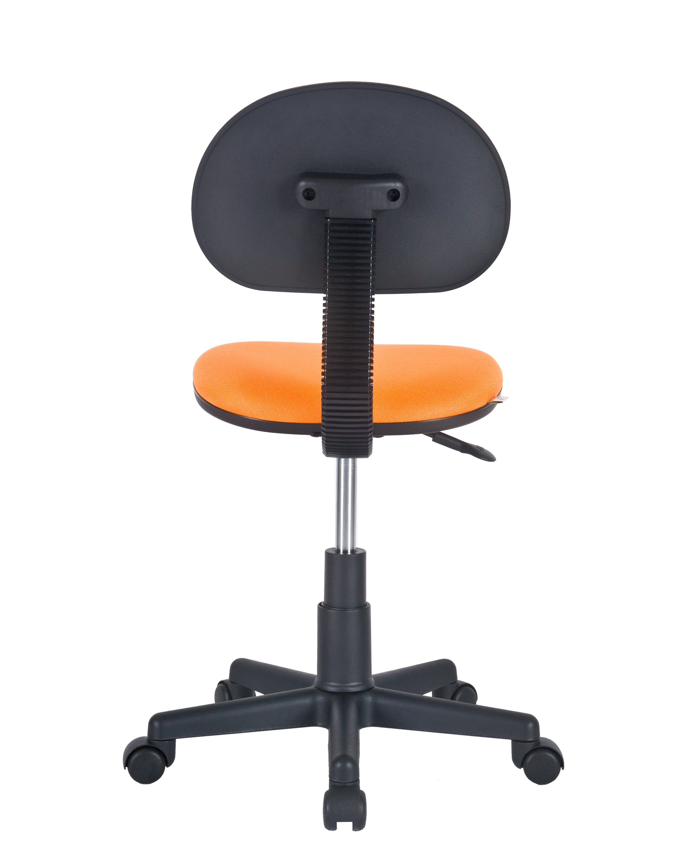 Armless Task Chair by Charm Furniture (Orange)