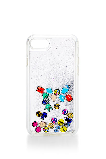 Emojis Glitterfall Case For iPhone 8 & iPhone 7